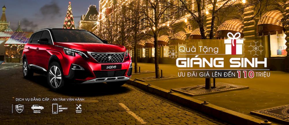 Peugeot dành tặng quà Giáng Sinh đặc biệt cho khách hàng lên đến 60 triệu | Peugeot Giải Phóng | 0938900725